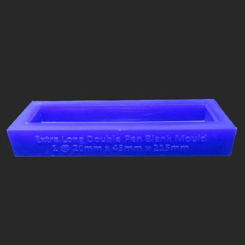 Extra long double block casting mould for kitless pen blanks 215mm
